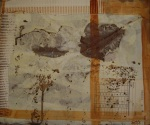 Herbst, Collage,Acryl/LW; 30 x 24 cm
